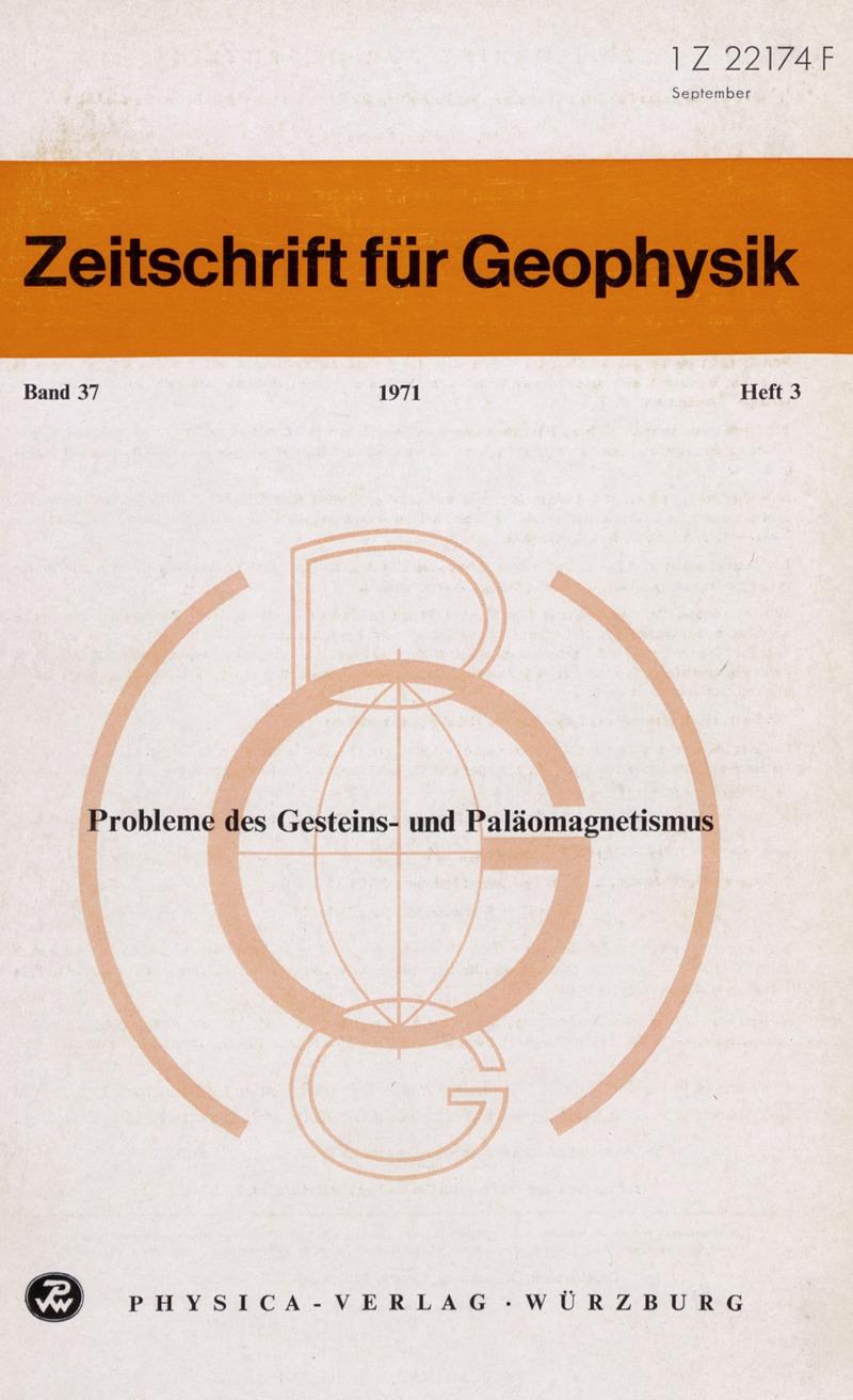 Zeitschrift für Geophysik