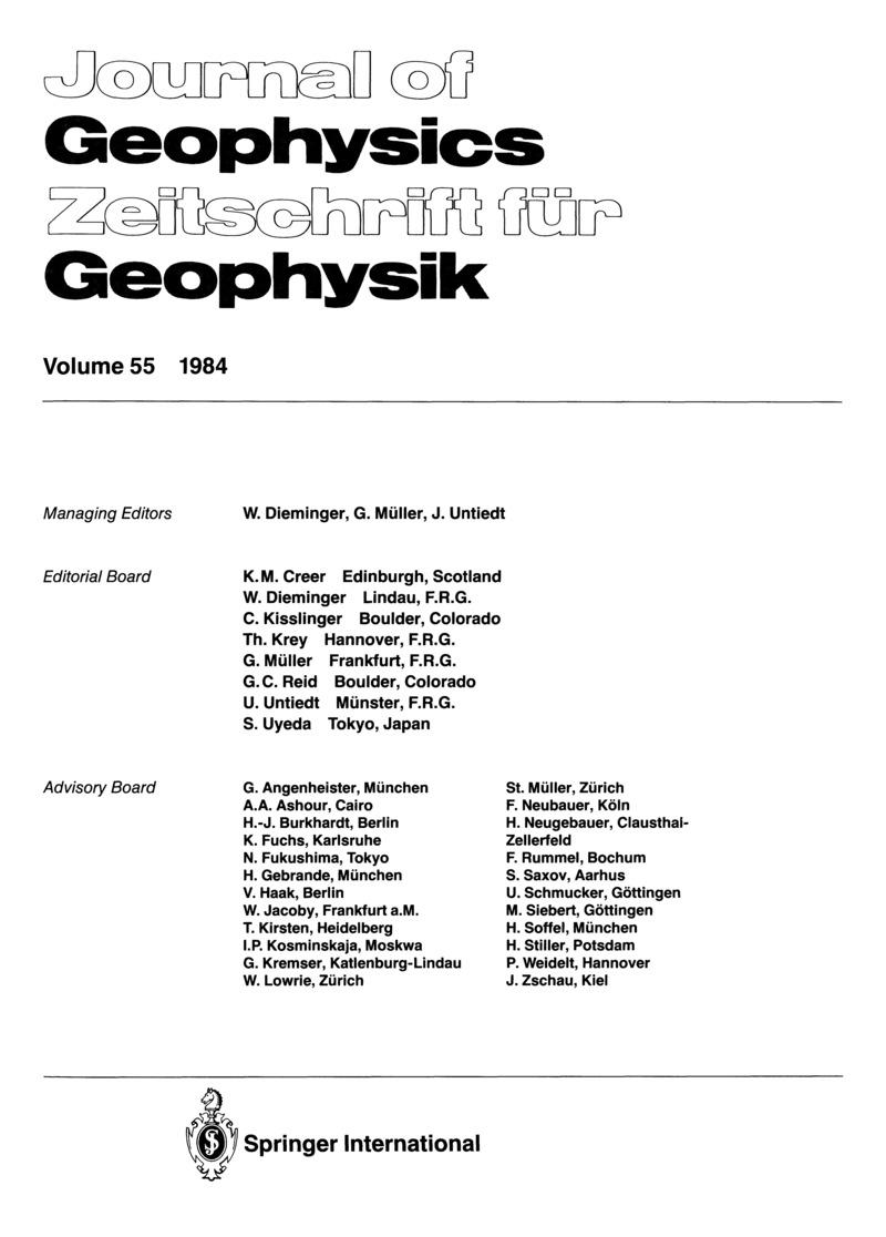 Journal of geophysics