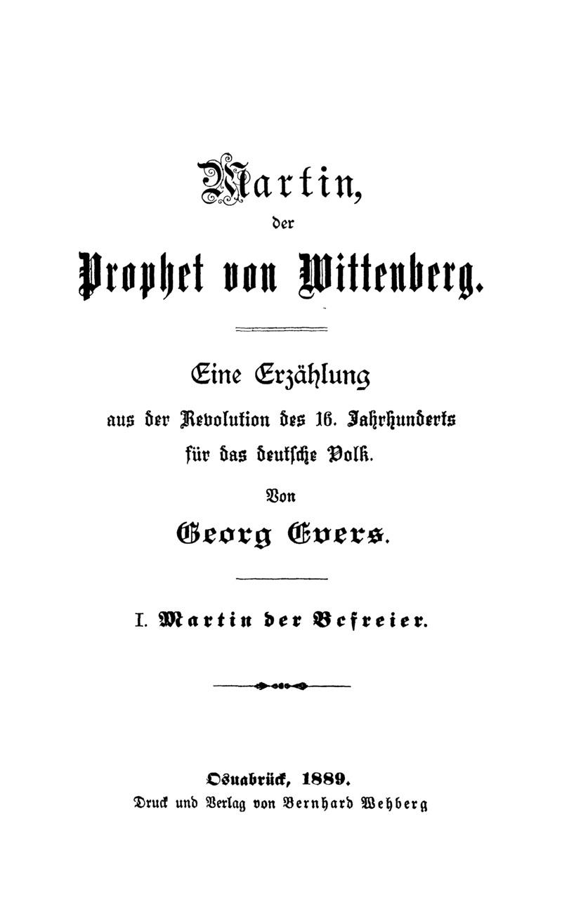 Martin der Befreier