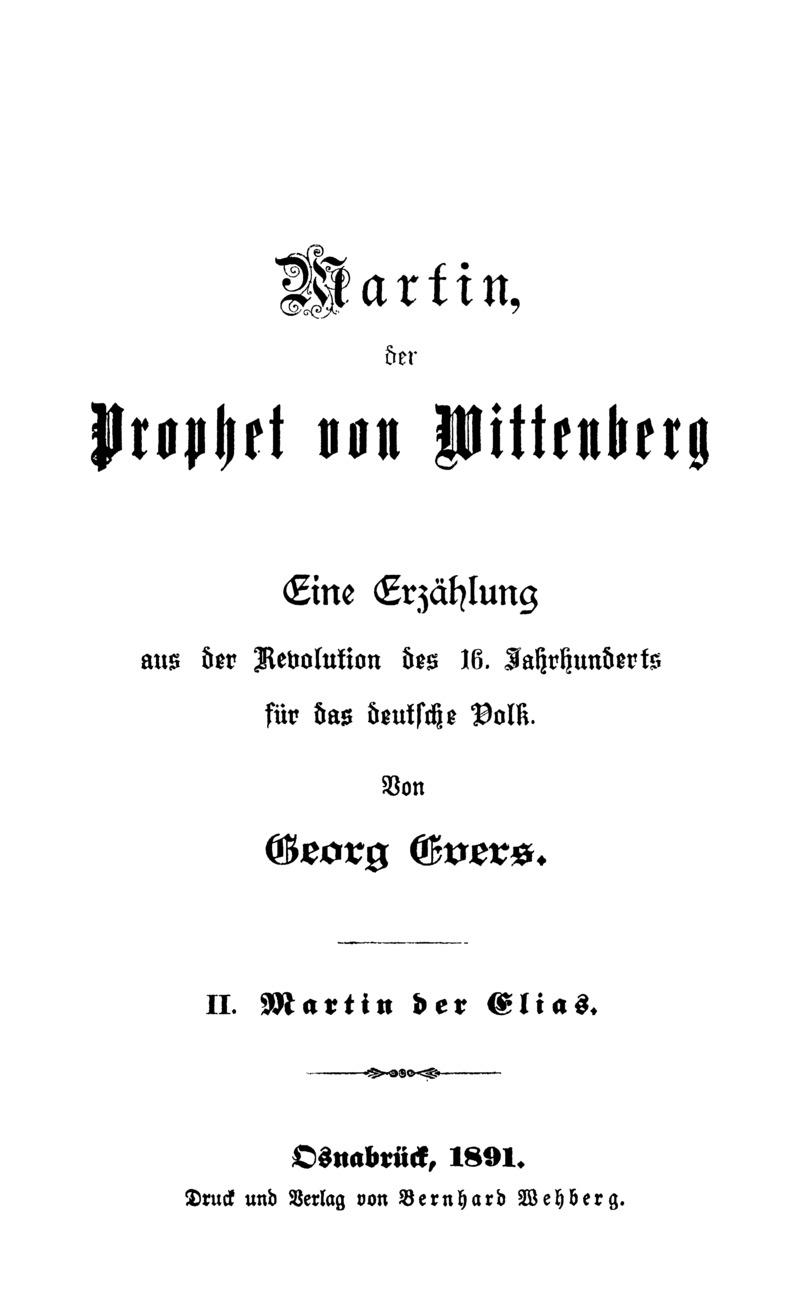 Martin der Elias