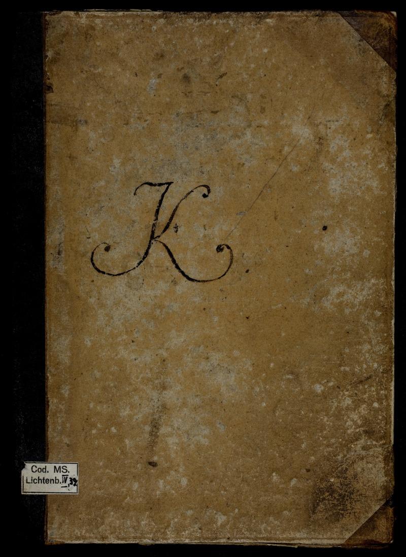 [Sudelbuch] K